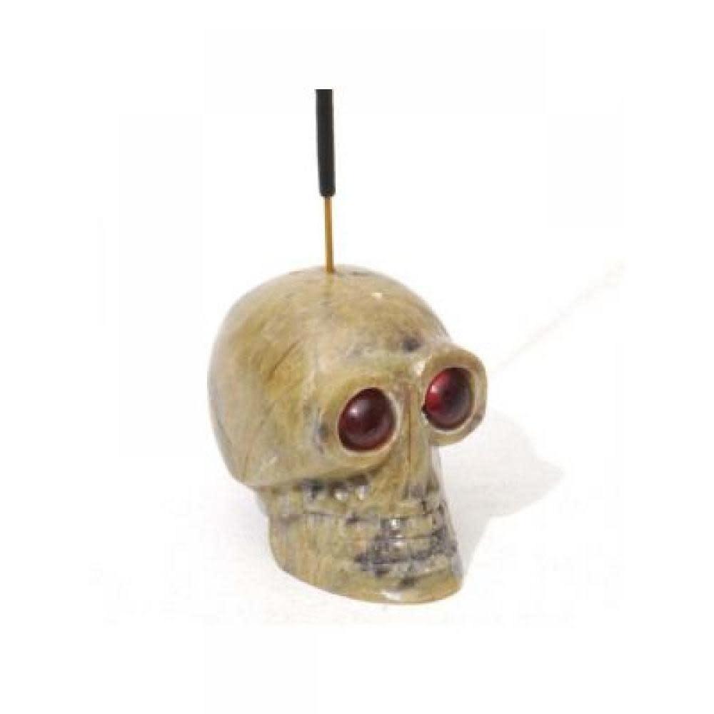 R. Expo Skull Incense Holder - Med