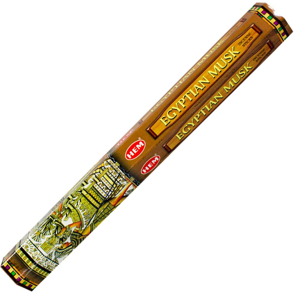 Kheops International Hem Hexagon Box Incense 20g Egyptian Musk single