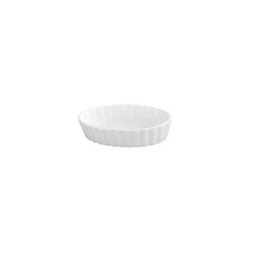 Harold Imports Co. Baking Dish - Ceramic White Oval Creme Brulee 5in