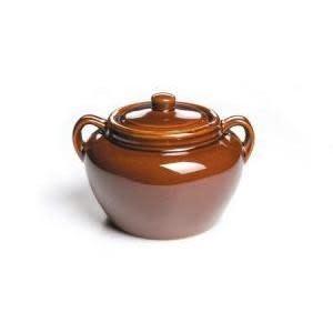 Fox Run Brands Bean Pot Ceramic
