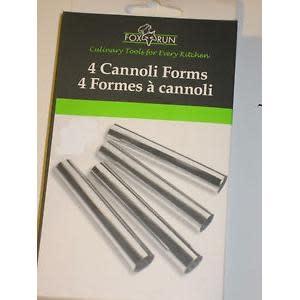 Fox Run Brands Cannoli Forms 4 Piece Set