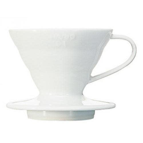 Hario Coffee Maker Pour-over Ceramic Dripper Ceramic White 1cup