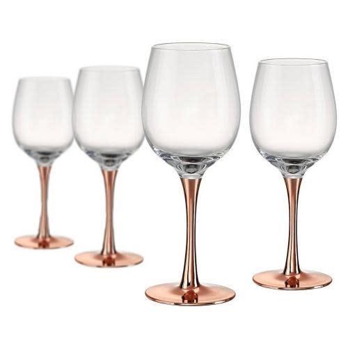 Artland Drinkware Glass Coppertino Wine 14oz