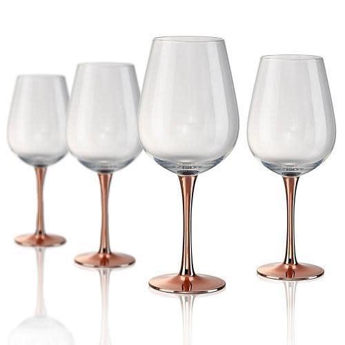 Artland Drinkware Glass Coppertino Wine 23oz Goblet