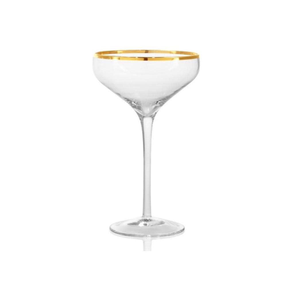 Artland Gold band cocktail coupe 10oz