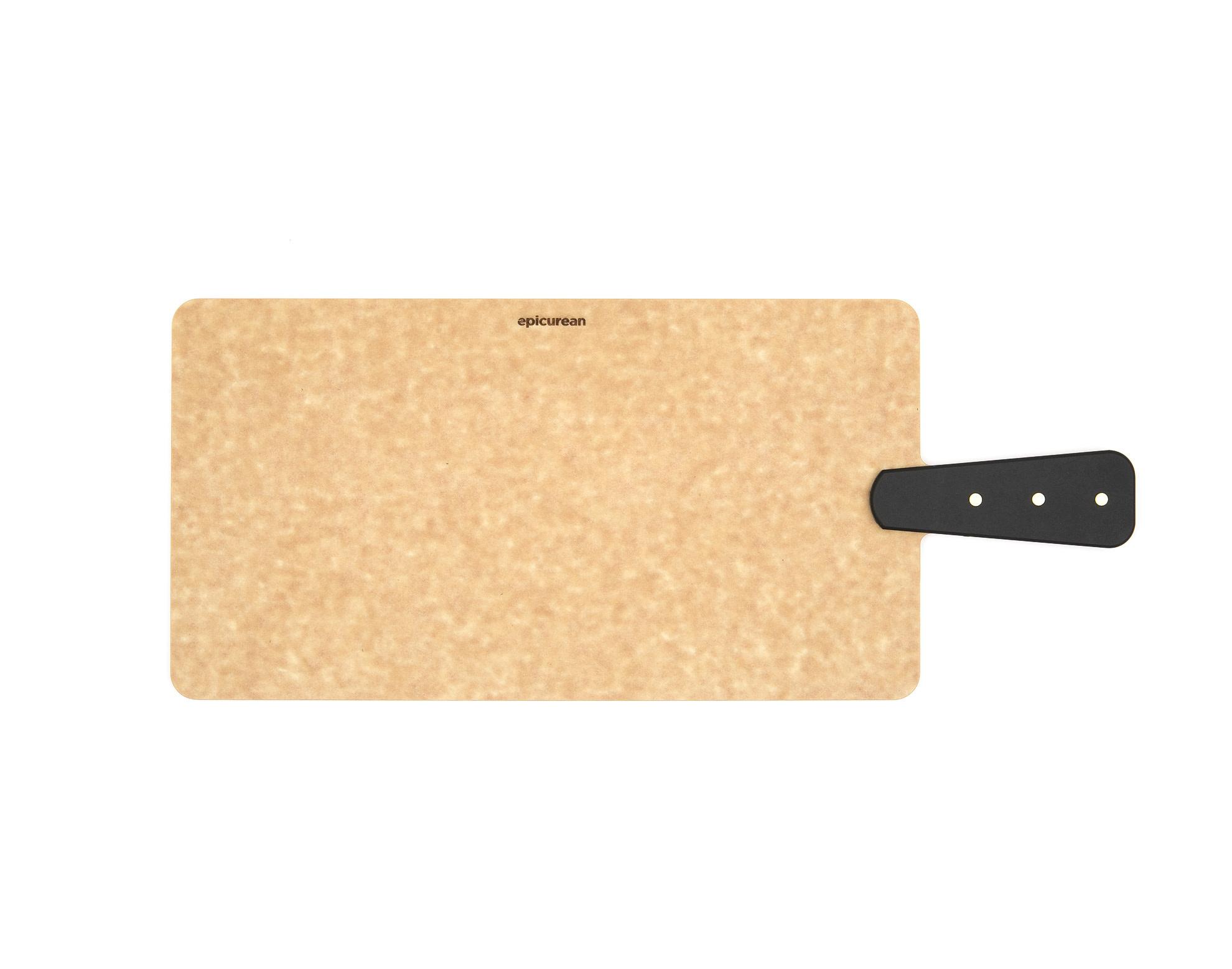 Epicurean Cutting Board Riveted Handle Handy 14in X 7.5in