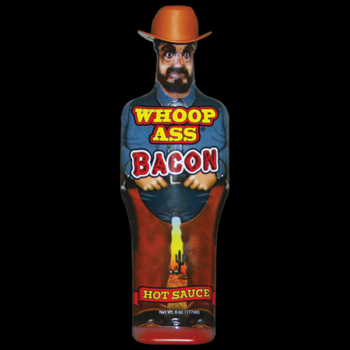 Southwest Specialty Food Inc Barbecue Hot Sauce Cowboy Whoop Ass Bacon