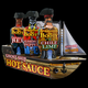 Southwest Specialty Food Inc Barbecue Hot Sauce Pirate Surrender The Booty Ghost Ship Set Of 3