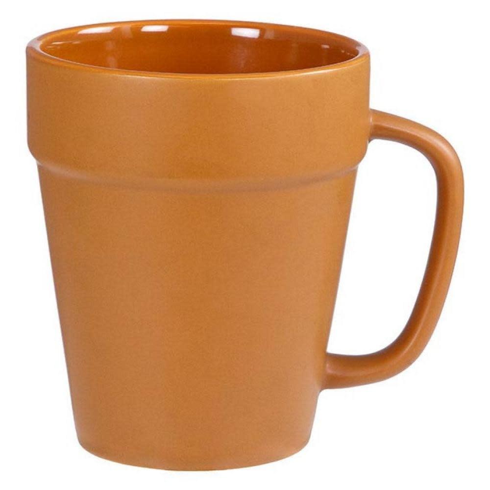 Down To Earth Terra Cotta Pot Mug 14oz