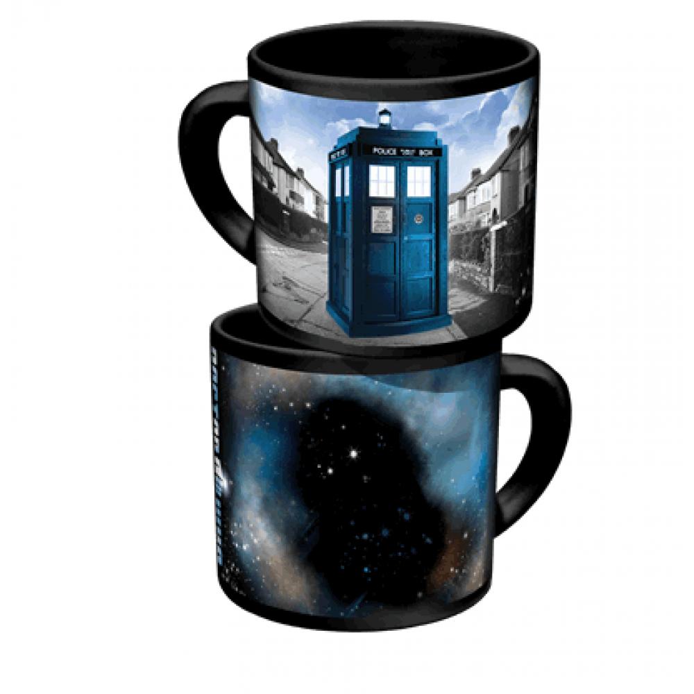Unemployed Philosophers Guild Novelty Mug - Doctor Who Disappearing Tardis