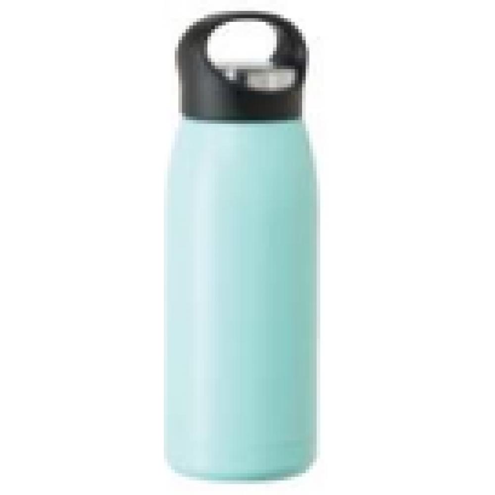 Oggi travel water bottle free style17oz vac insulated blue sky