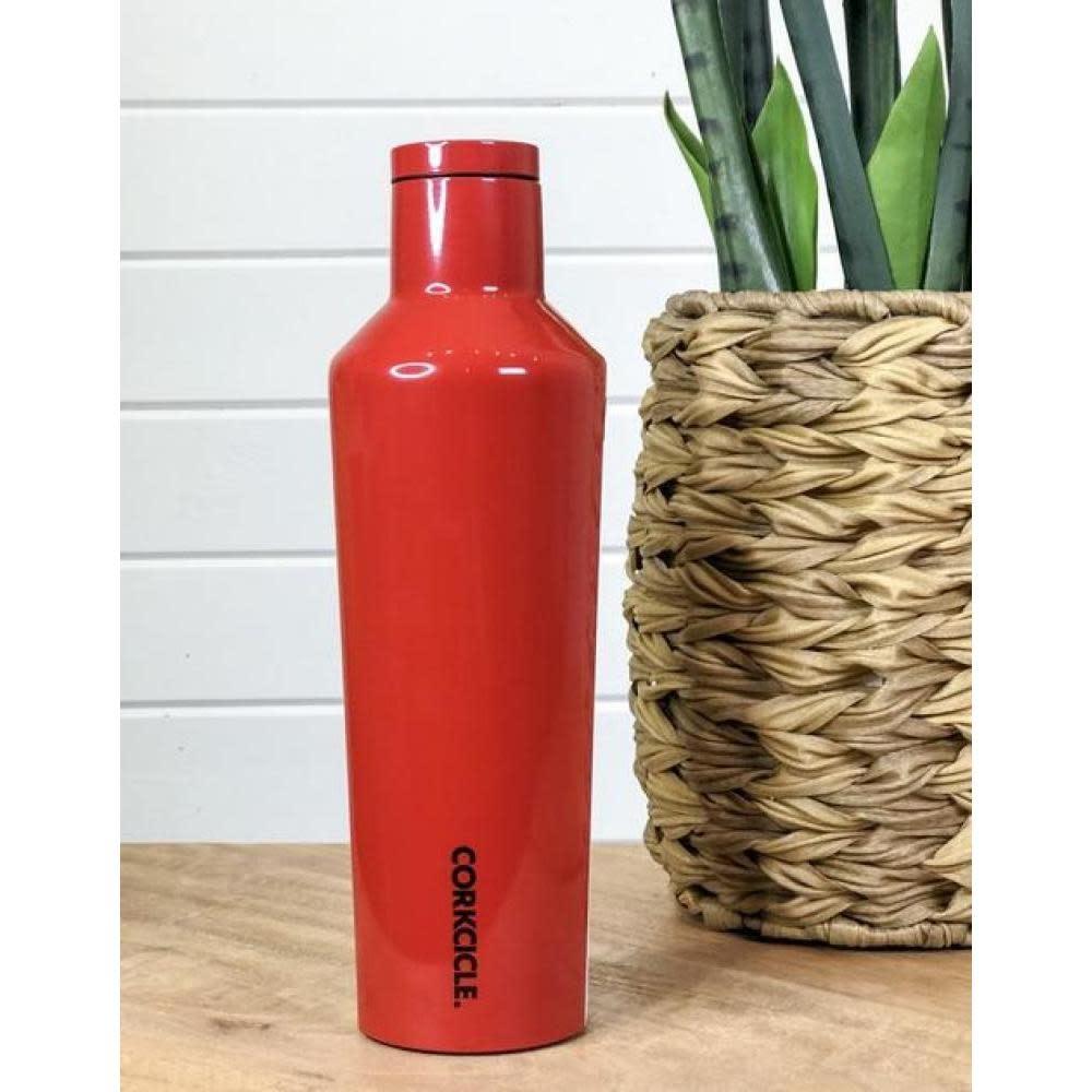 Corkcicle Travel Bottle Canteen 25oz Cherry Bomb