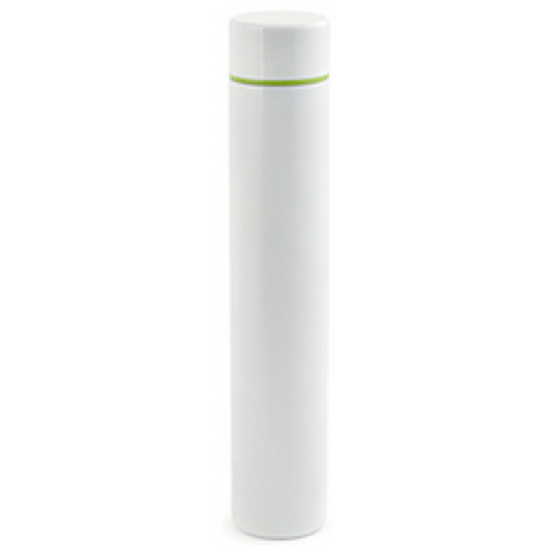 Kikkerland Travel Water Bottle Slim White