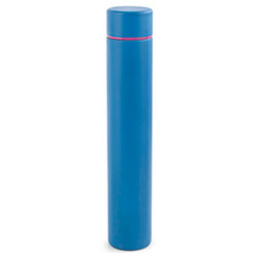 Kikkerland Travel Water Bottle Slim Blue