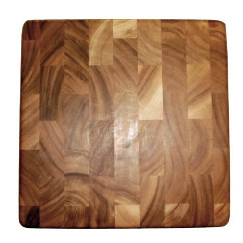 Fox Run Brands Cutting Board Wooden End Grain Square 14x14x1.25in