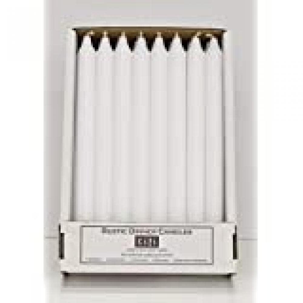 Jande Inc. Candle Kiri Taper 12in White