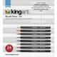 Kingart Brush Pen Markers 24 pc