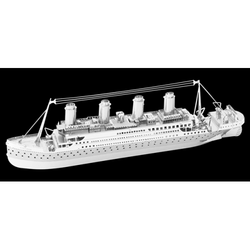 Fascinations Toys & Gifts Metal Model Kit Titanic Ship