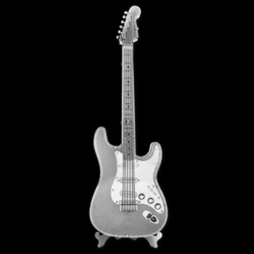 Fascinations Toys & Gifts Metal Model Kit Electric Lead Guitar