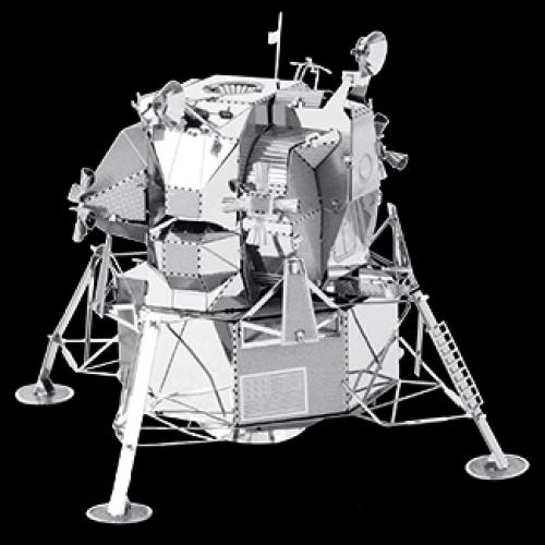 Fascinations Toys & Gifts Metal Model Kit Apollo Lunar Module
