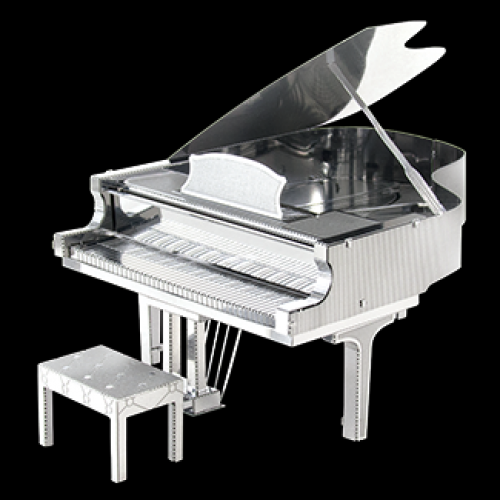 Fascinations Toys & Gifts Metal Model Kit Grand Piano