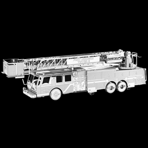 Fascinations Toys & Gifts Metal Model Kit Fire Engine Truck