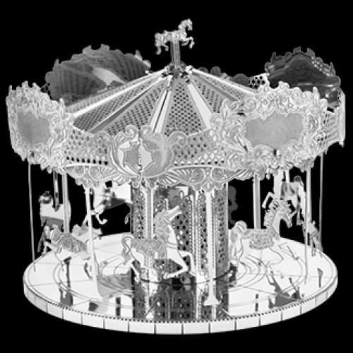 Fascinations Toys & Gifts Metal Model Kit Merry Go Round