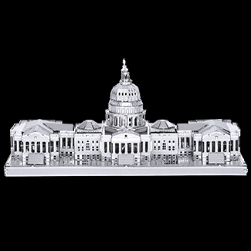 Fascinations Toys & Gifts Metal Model Kit Us Capitol Building