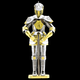 Fascinations Toys & Gifts Metal Model Kit European (knight) Armor
