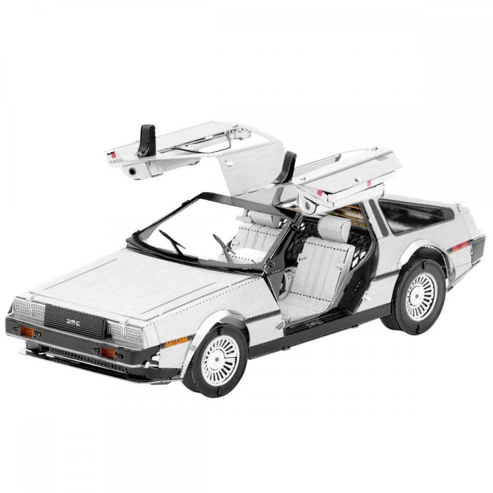 Fascinations Toys & Gifts Metal Model Kit DeLorean