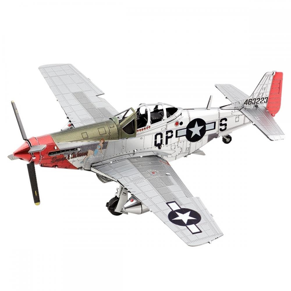 Fascinations Toys & Gifts Metal Model Kit P-51D Mustang Sweet Arlene