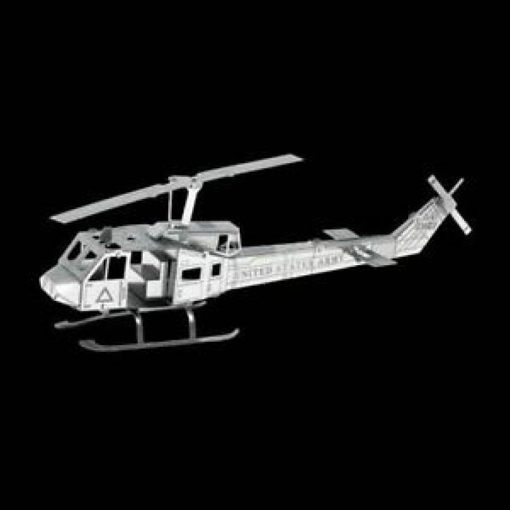 Fascinations Toys & Gifts Metal Model Kit UH-1 Huey Helicopter