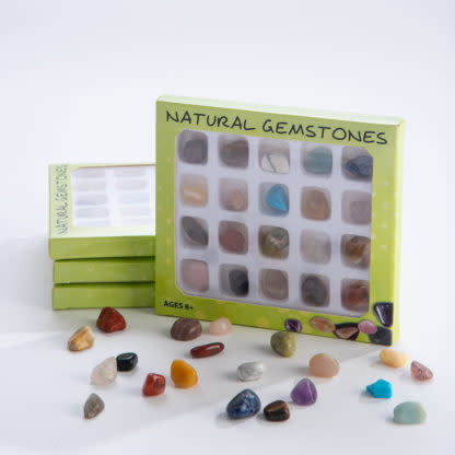 GeoCentral Gemstone Collection Box
