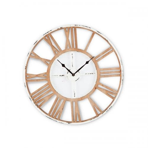 Gerson Everyday Wall Clock Wooden & Metal