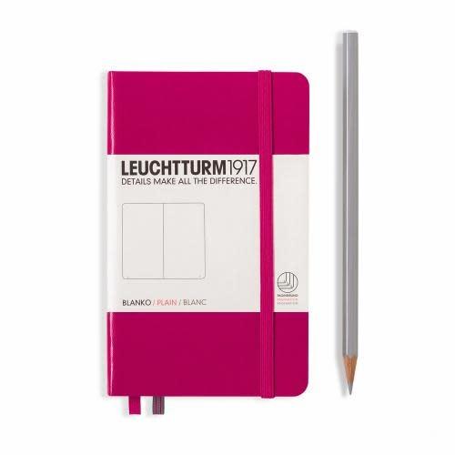 Leuchtturm 1917 Notebook - Pocket - Berry - Plain