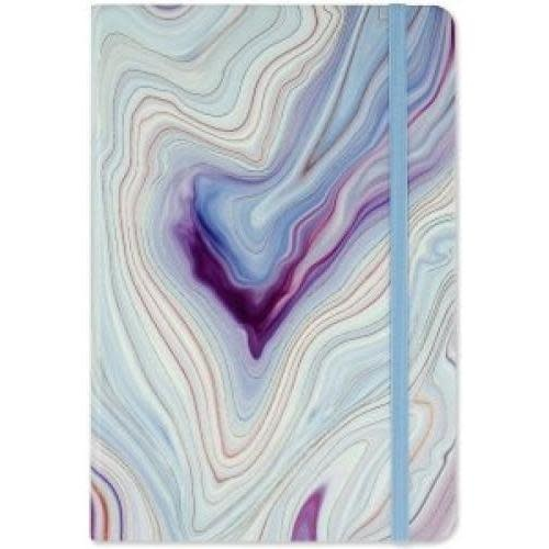 Peter Pauper Journal -  Dotted Blue Agate