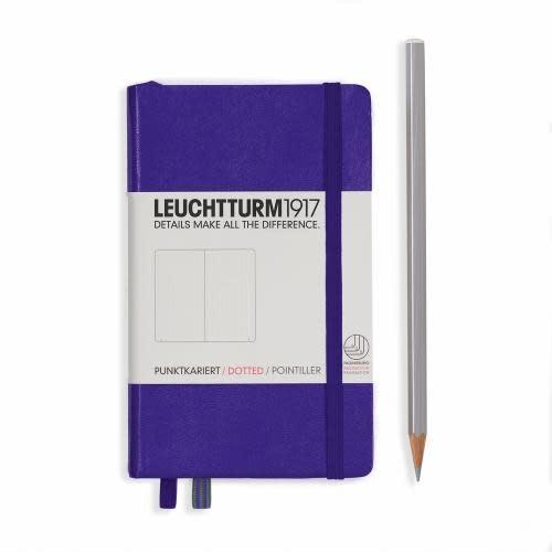 Leuchtturm 1917 Notebook - Pocket - Purple - Dotted