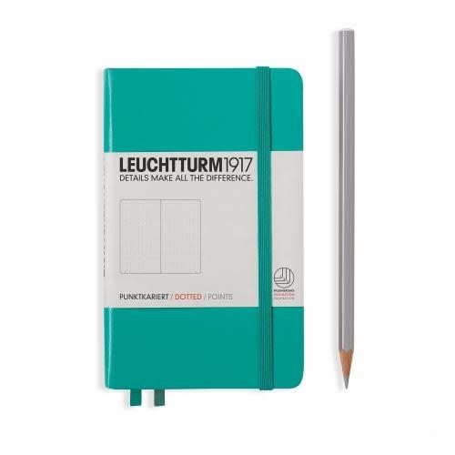 Leuchtturm 1917 Notebook - Pocket - Emerald - Dotted
