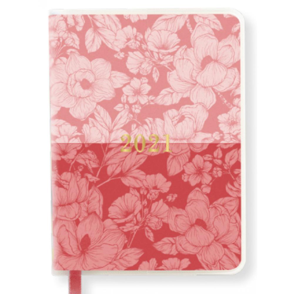 Waste Not Paper Planner - Soft Laminate Planner Split Floral