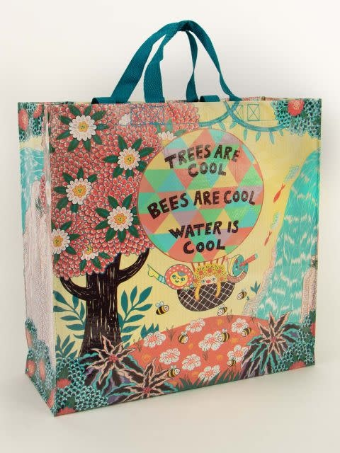 Blue Q Shopper - Trees and Bees