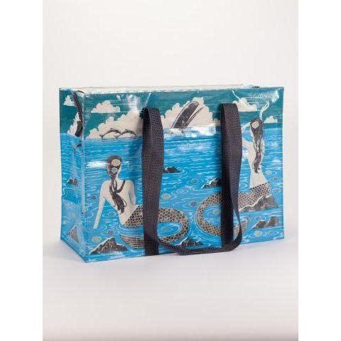 Blue Q Shoulder Tote - Mermaid