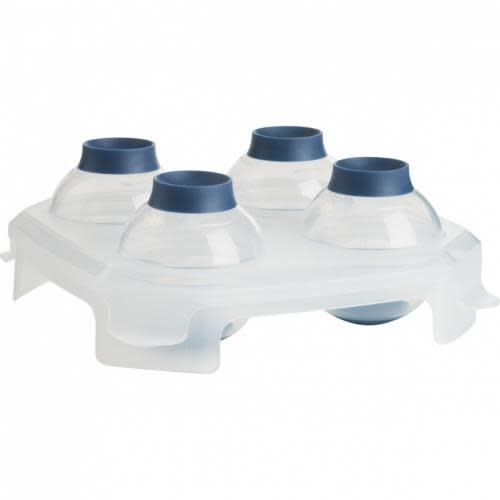 Trudeau Ice Cube Mold Tray Spheres
