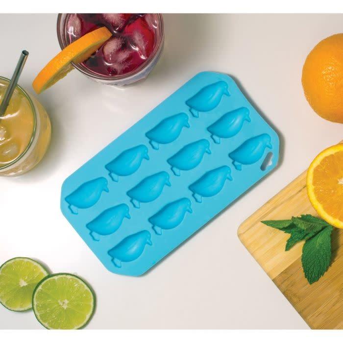 Harold Imports Co. Ice Tray Mold Penguin Light Blue