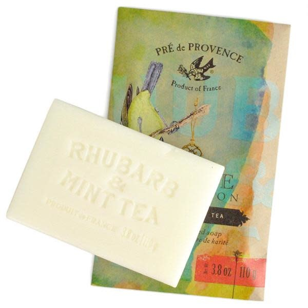 European Soaps Private Collection Shea Butter Enriched Soap Rhubarb And Mint Tea