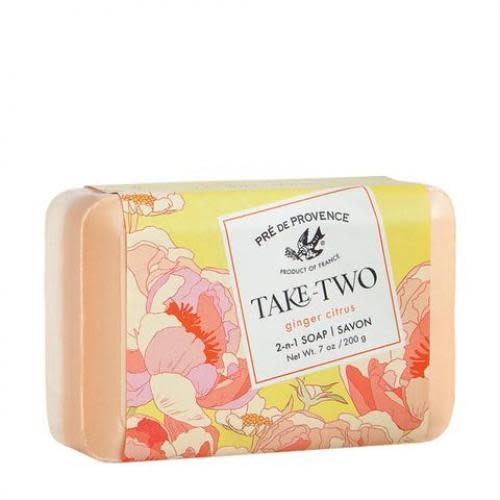 European Soaps Soap Bar Take Two Ginger Citrus