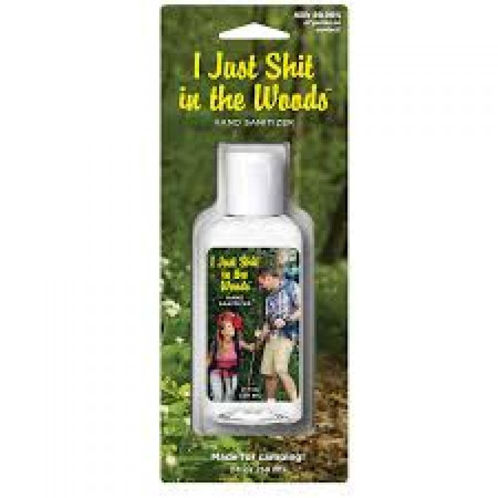 Blue Q Hand Sanitizer - I Just Shit In The Woods