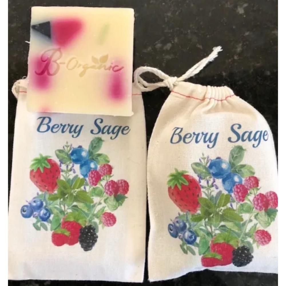 B-Organic Soap - Berries & Sage