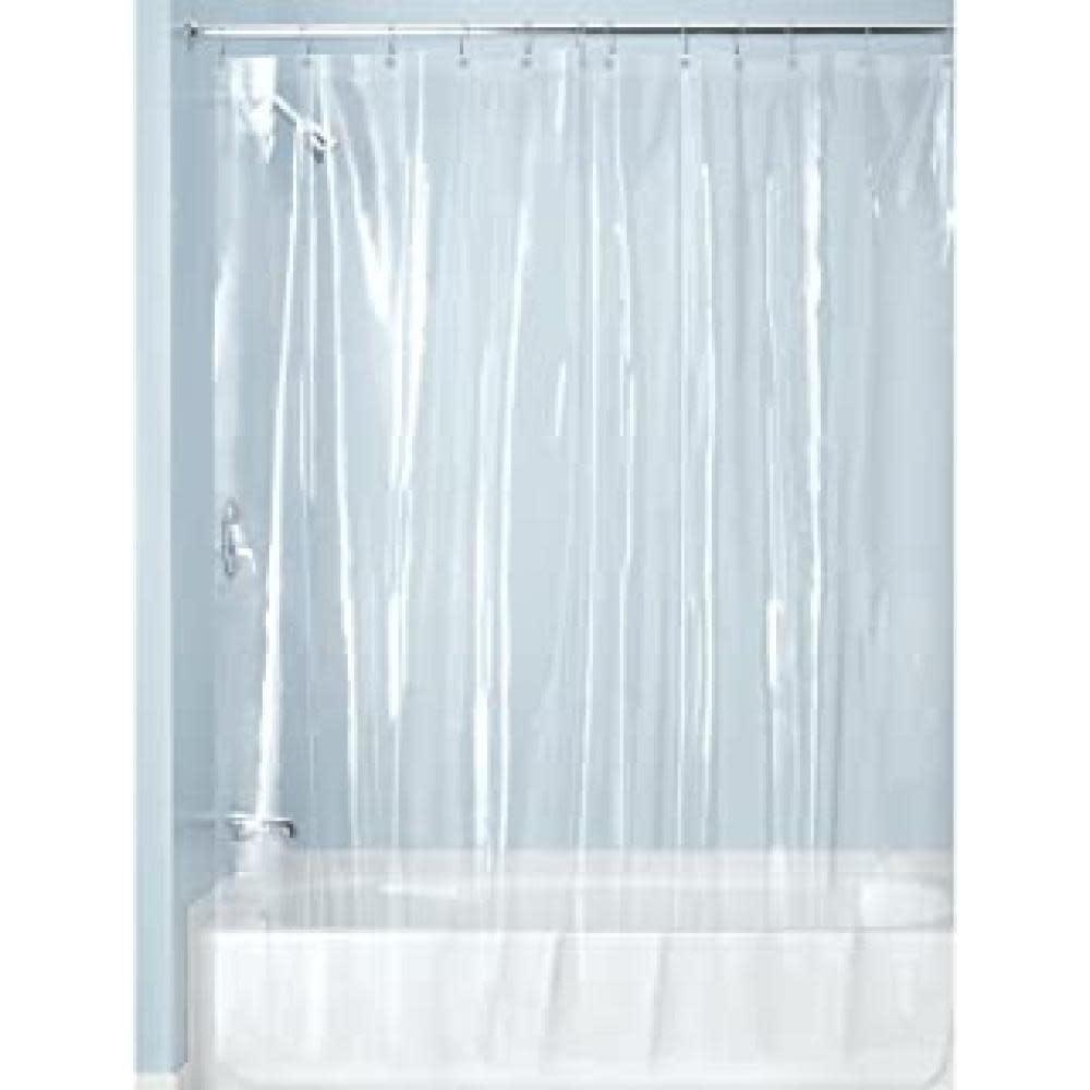 Interdesign Shower Curtain Liner - Vinyl Clear 10 Gauge