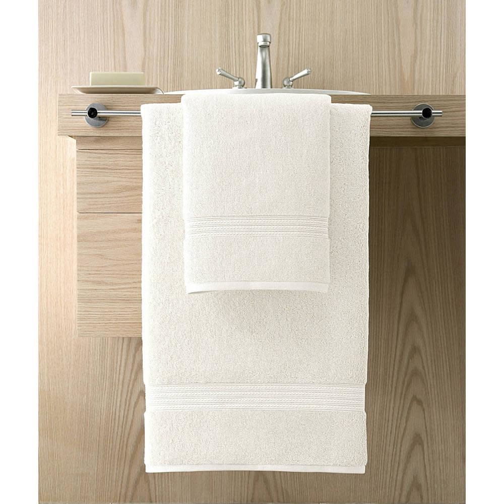 Kassatex Wash Towel - Kassadesign 12x12 - White