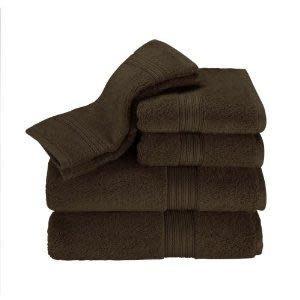 Kassatex Wash Towel - Kassadesign 12x12 - Chocolate